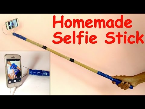 How to Make a SELFIE STICK at HOME