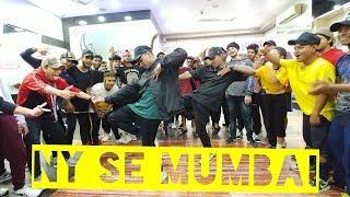 Nas, Divine, Naezy, Ranveer Singh - NY Se Mumbai   Kartik Raja Dance Choreography