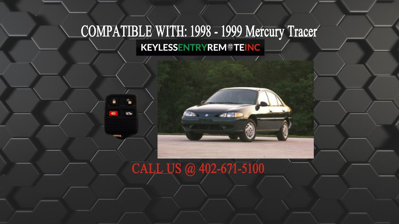 1998 mercury tracer battery