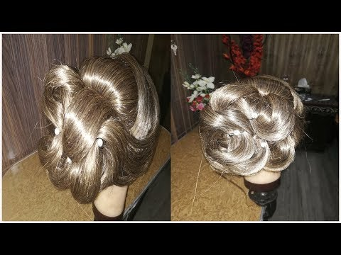 Bridal BUN Hair Tutorial | Step by Step Bridal Hairstyle Tutorial / Indian Pakistani  haistyles