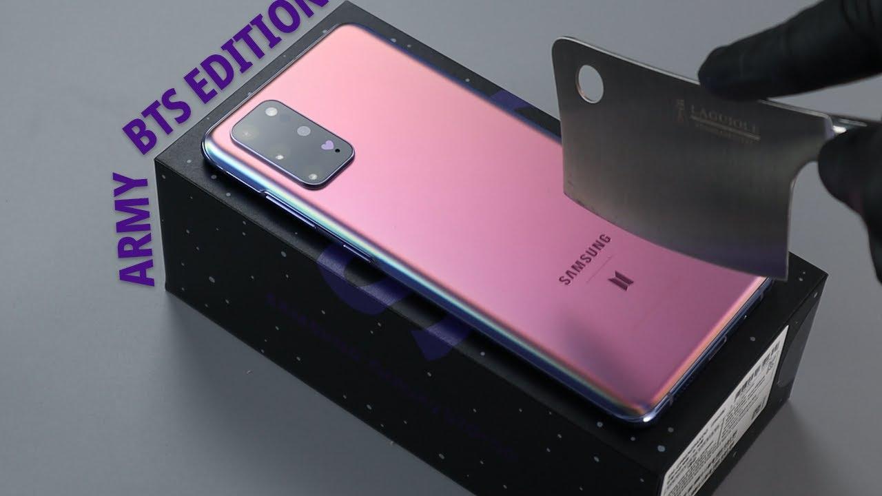 BTS Samsung Galaxy S20+ Unboxing [4K]