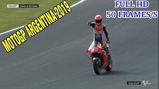 Valentino Rossi vs Marc Marquez super overtake in race motogp argentina 2019