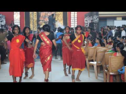 Kanchana Dance Performance By Devagiri College 3rd Year Footballers 2016-2017