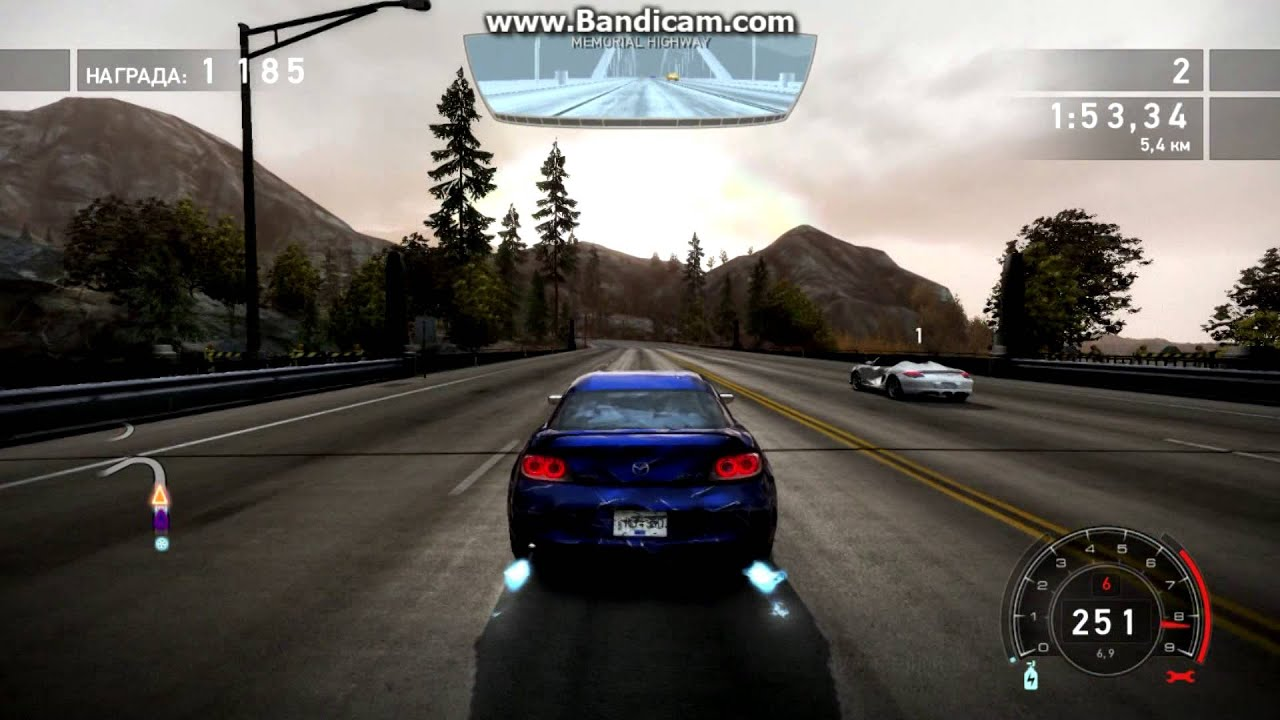 need for speed hot pursuit mazda rx8 - youtube