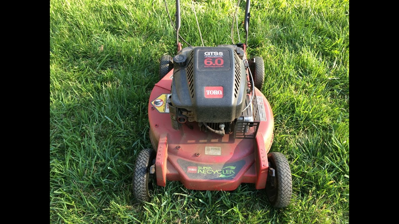 Toro Super Recycler 1998 Lawn Mower Model 20494 Sr-21s - Moving Sale - April 12  2016