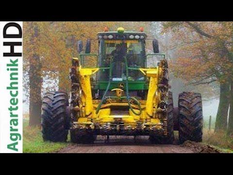 Maishäckseln | John Deere | Fendt | Claas Traktoren im Einsatz | Tractors | AgrartechnikHD