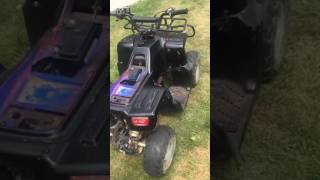 Chinese four wheeler not getting spark fix