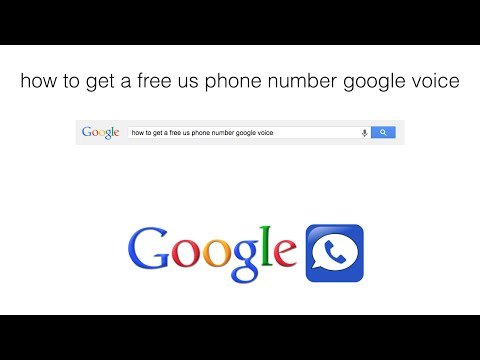 How To Get A Free US Phone Number Google Voice