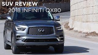 SUV Review   2018 Infiniti QX80   Driving.ca