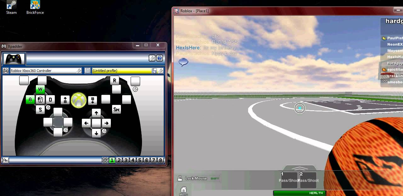 Playing Roblox With Xbox360 Controller Youtube