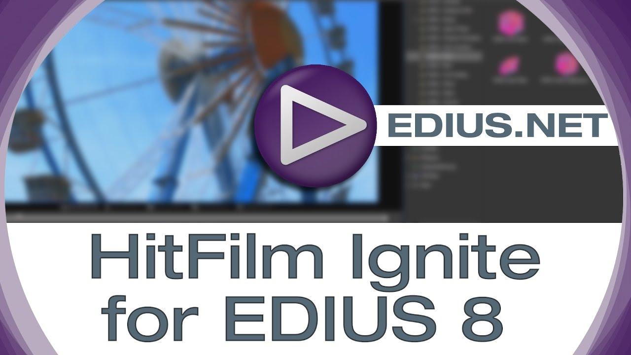 FXHome HitFilm Ignite Pro 4 (2019) (Filter) - EDIUS