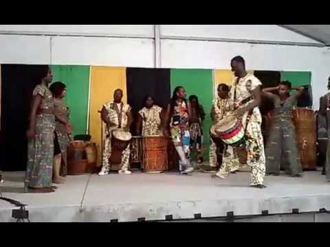 WEST AFRICAN DANCERS AND DRUMMERS