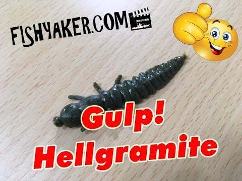 Berkley Gulp! Hellgramite Fishing Lures: Episode 643