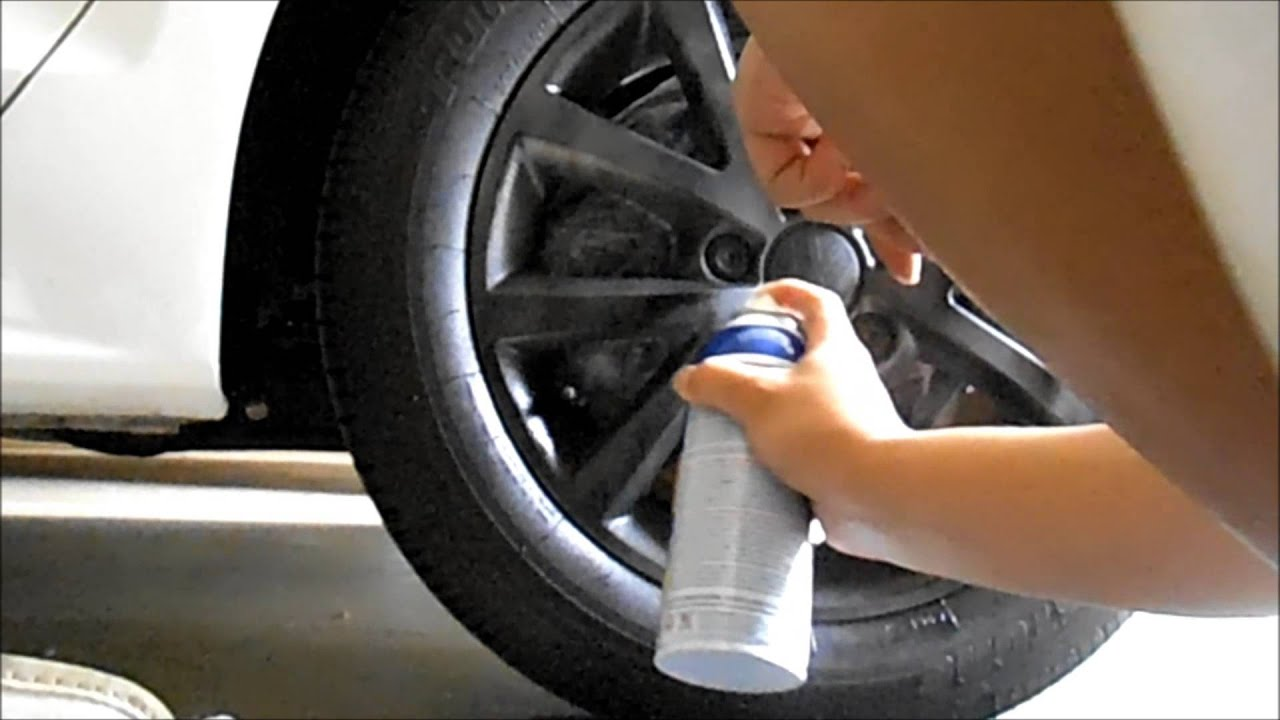 How To Paint Alloy Rims White