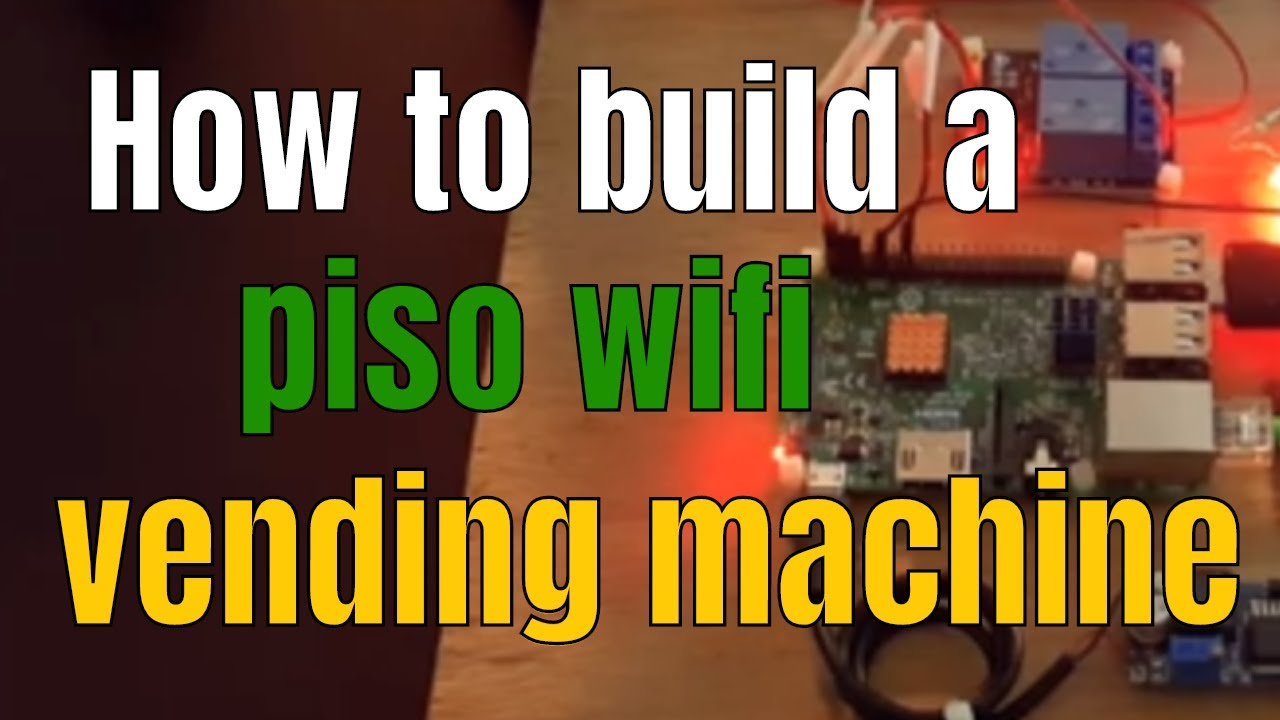 How to build a piso wifi vending machine Japanese Vending Machines Wiring Diagram on