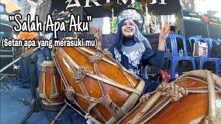Download SALAH APA AKU (SETAN APA YANG MERASUKI MU) COVER KENDANG MILJAY