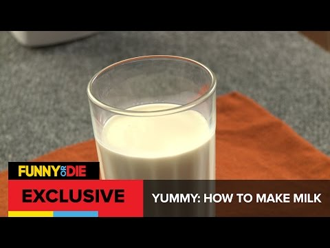 "Make fresh, ""nutritious"" milk from scratch!"