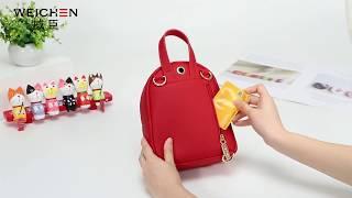 Женский рюкзак - сумка WEICHEN с Алиэкспресс