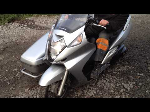 Silver Wing 600 with sidecar