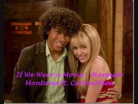 if we were a movie hannah montana ft corbin bleu youtube