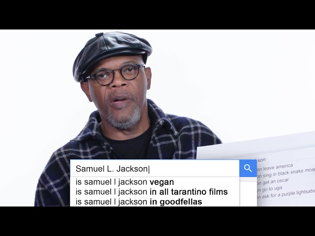 Samuel L. Jackson Answers the Web's Most Searched Questions