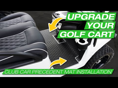[HOW TO]Golf Cart Mat Installation On A Club Car With An Aftermarket Dash | Xtreme Mats |