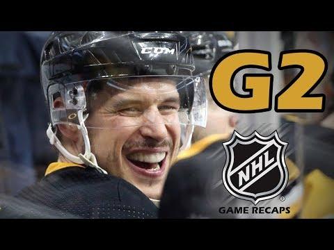 Philadelphia Flyers vs Pittsburgh Penguins. 2018 NHL Playoffs. Round 1. Game 2. 04.13.2018. (HD)