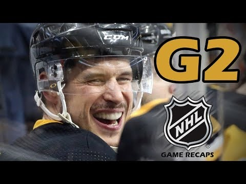 Philadelphia Flyers vs Pittsburgh Penguins. 2018 NHL Playoffs. Round 1. Game 2. 04.13.2018. (HD)