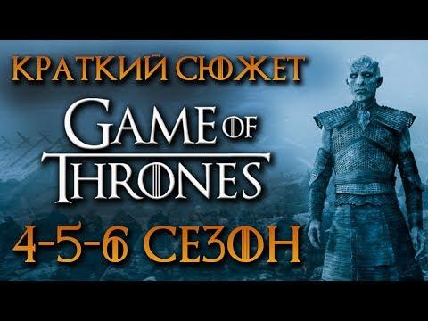 КРАТКИЙ СЮЖЕТ ИГРА ПРЕСТОЛОВ GAME OF THRONES 4-6 СЕЗОНА