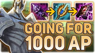 FULL AP GALIO IS SERIOUSLY HIDDEN OP!! 1000 AP GALIO CHALLENGE (MULTIPLE ONE SHOTS) - Patch 7.13
