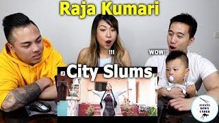 City Slums - Raja Kumari ft. DIVINE | Official Video | Reaction - Asian Australian