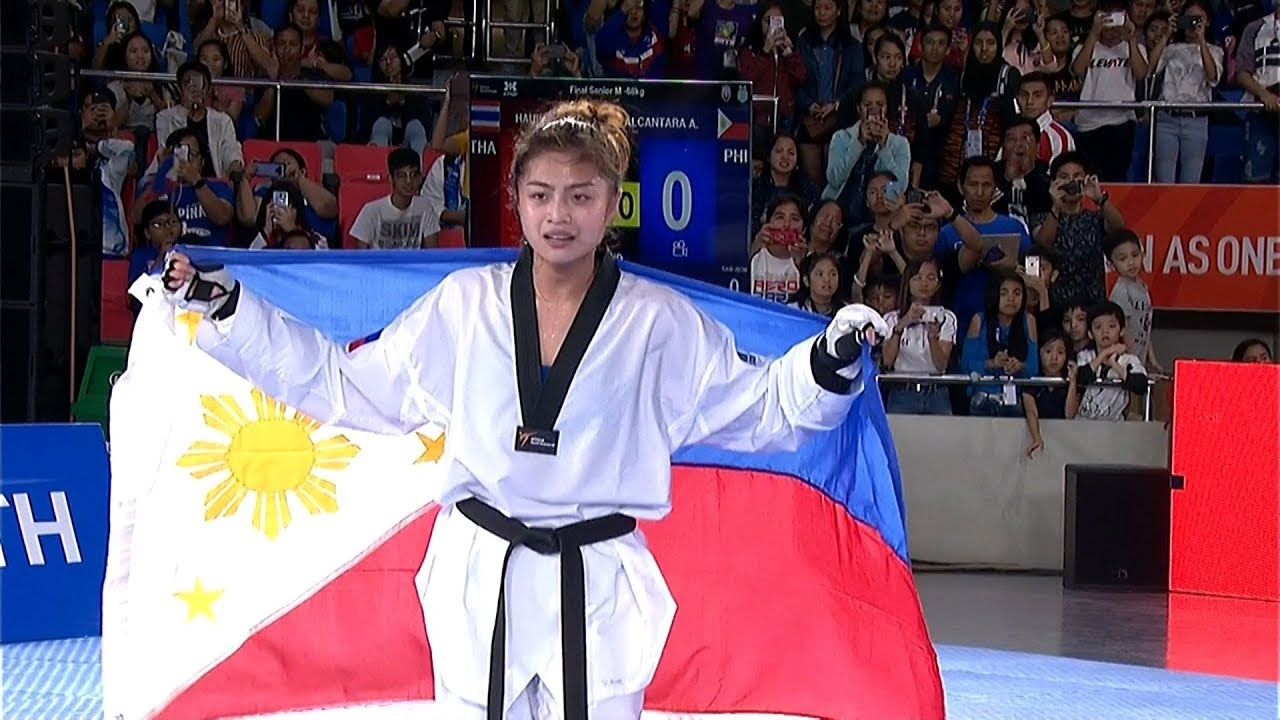 Gold Medal For Pauline Lopez In The Womens Kg Category Of