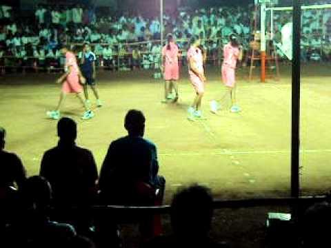 Bhalki, Grils Vollyball Games Maharshtra vs Andrapradesh Part-1-INTELNET
