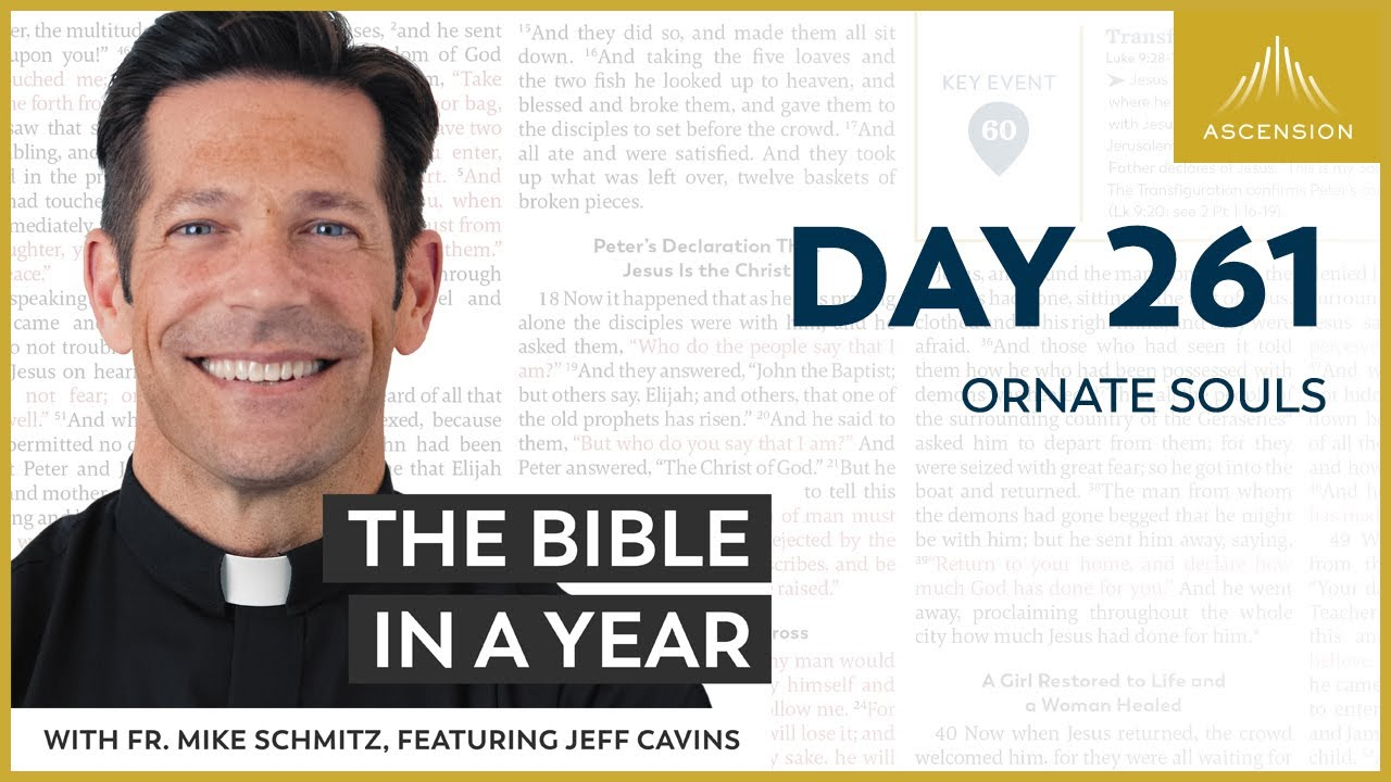Download Day 261: Ornate Souls — The Bible in a Year (with Fr. Mike Schmitz)
