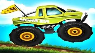 Мультик про машинки внедорожники. МОНСТР ТРАК ГОНКИ.  Monster TRUCK and Monster JAM(МОНСТР ТРАК - это большой автомобиль с огромными колесами, которые помогают ездить по бездорожью, преодолев..., 2016-02-29T12:12:28.000Z)