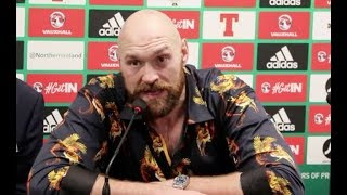 'IM NOT PLAYING GAMES' - TYSON FURY EXPLAINS WHY AND HOW HE WILL BEAT DEONTAY WILDER / WILDER v FURY