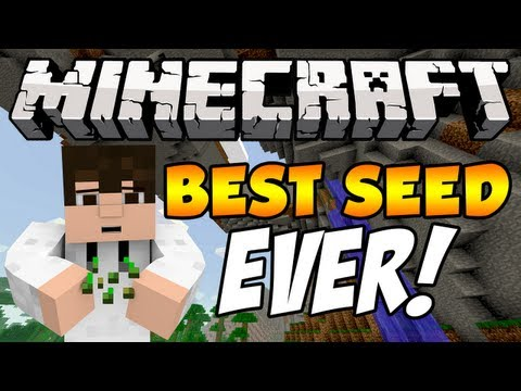 Best Game Of The Year 420 Blaze It >> Minecraft Let's Play, Episode 1(best seed ever?)   Doovi