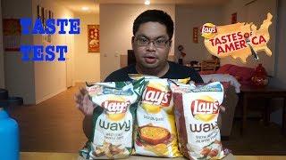 LAYS | TASTE OF AMERICA - WEST COAST EDITION | TASTE TEST | FOOD REVIEW