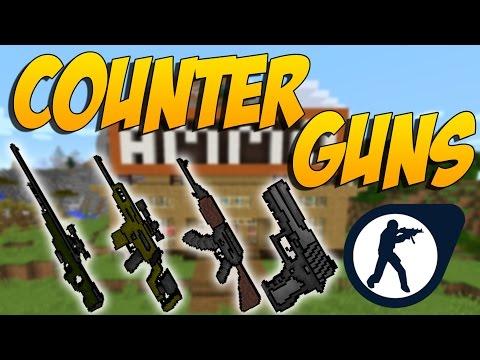 COUNTER GUNS: Mod De Armas Del Counter-Strike - Minecraft Mod 1.10.2