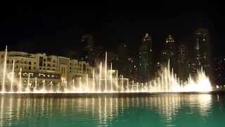 Dubai Fountains (Arabic Music) 2014