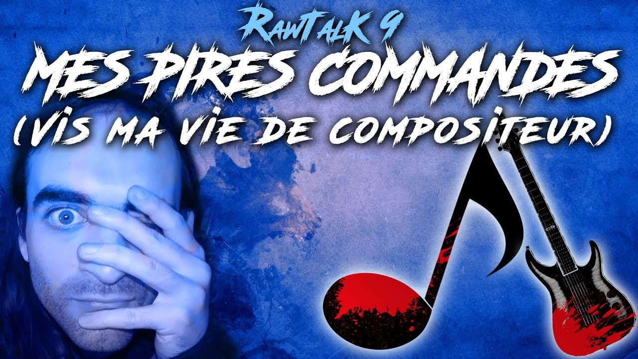 RawTalk #9 - Compositeur : mes clients les plus IMPROBABLES