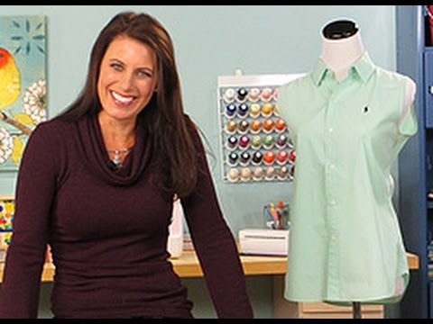 Angela Wolf Teaches How To Add Darts to a Shirt on It\'s Sew Easy ...
