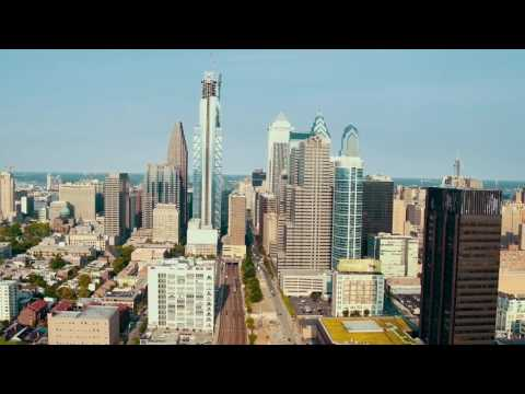 Drone Video of Comcast Technology Center