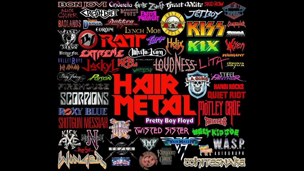 80s Hair Glam Metal Playlist
