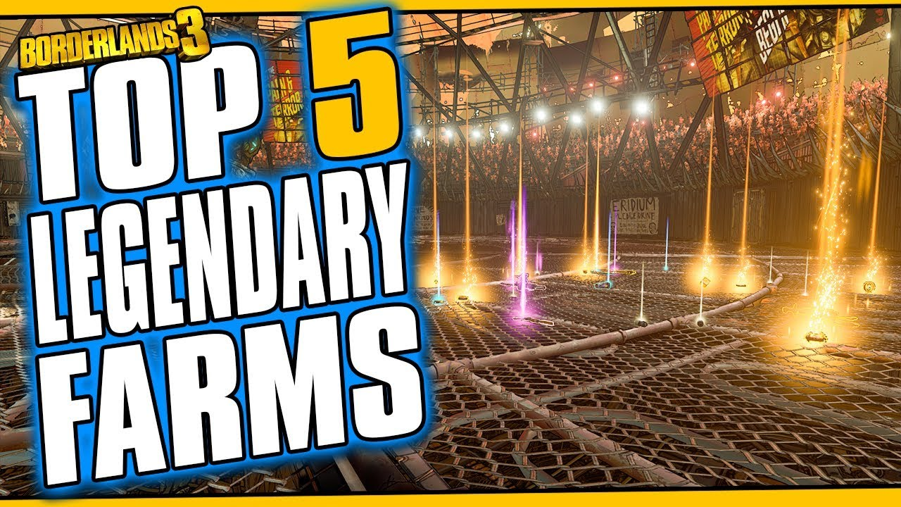 Top 5 Legendary Loot Farms in Borderlands 3 thumbnail