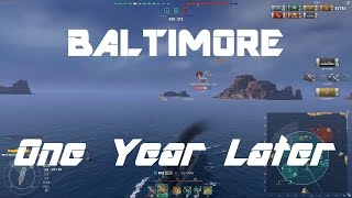 USN T9 CA Baltimore - One Year Later [128k damage]