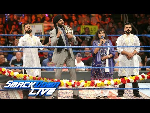 Jinder Mahal's Indian Independence Day Celebration: SmackDown LIVE, Aug. 15, 2017 thumbnail