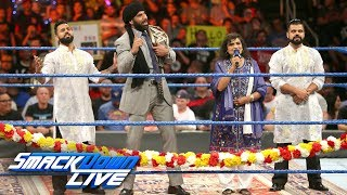 Jinder Mahal's Indian Independence Day Celebration: SmackDown LIVE, Aug. 15, 2017