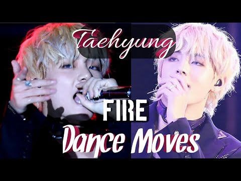 [180622] BTS FIRE LOTTE FAMILY CONCERT TAEHYUNG RUDE [Dance APPRECIATION]