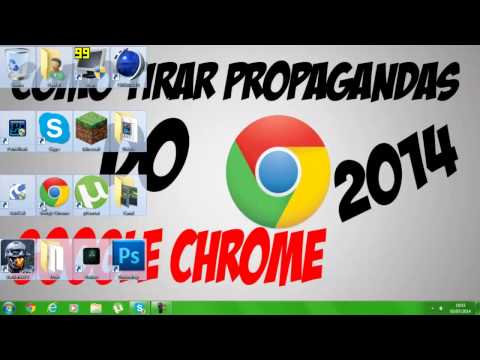 Como tirar propagandas do Google Chrome 2014